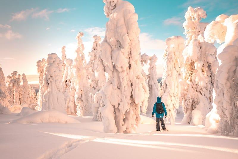Yllas Finland winter