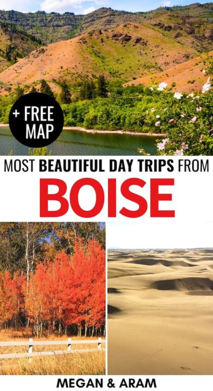 Are you looking for the best day trips from Boise? This Boise day trips guide gives the low down on sand dunes, hot springs, skiing, forests, and so much more! | weekend getaways from boise | visit idaho | idaho road trip | idaho weekend getaways | idaho destinations | places to visit in idaho | things to do in boise | boise trips | boise road trip | boise nature | idaho nature | idaho photography