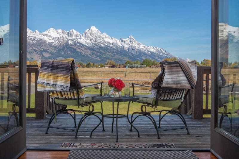 Airbnb in Grand Teton NP
