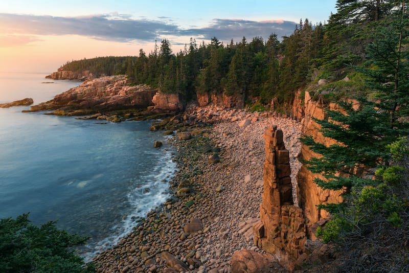 Best places to visit in Maine - Acadia National Park