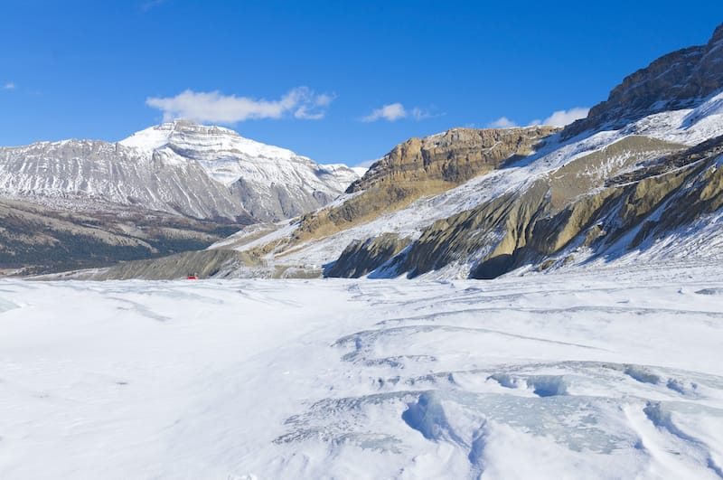 Athabasca Glacier - Things you didn't know about the Rockies