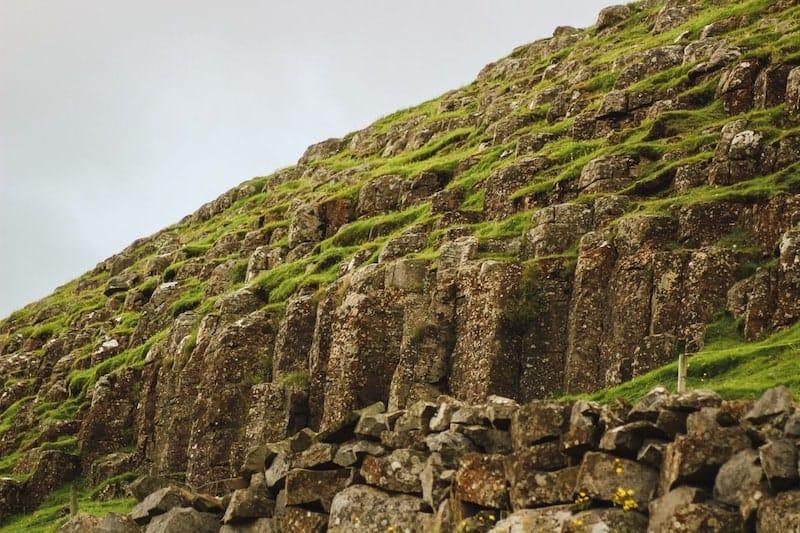 Basalt Columns at Froðba in Suduroy