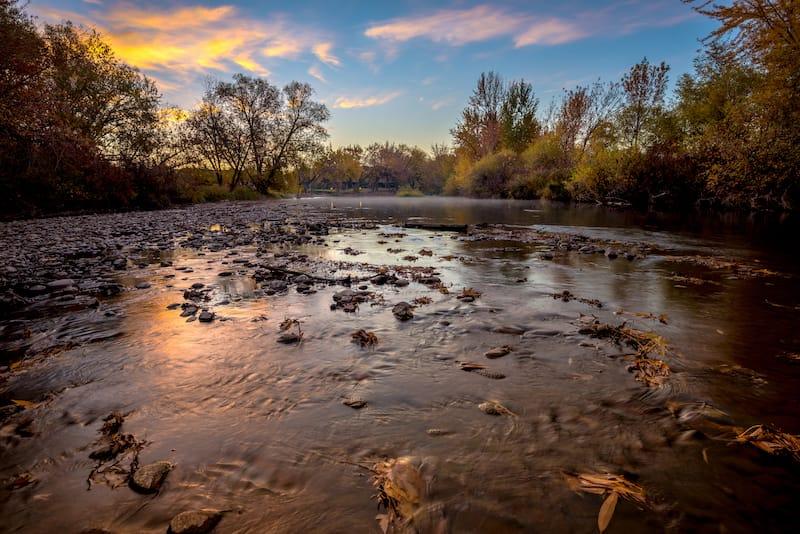 Boise River near Eagle, ID