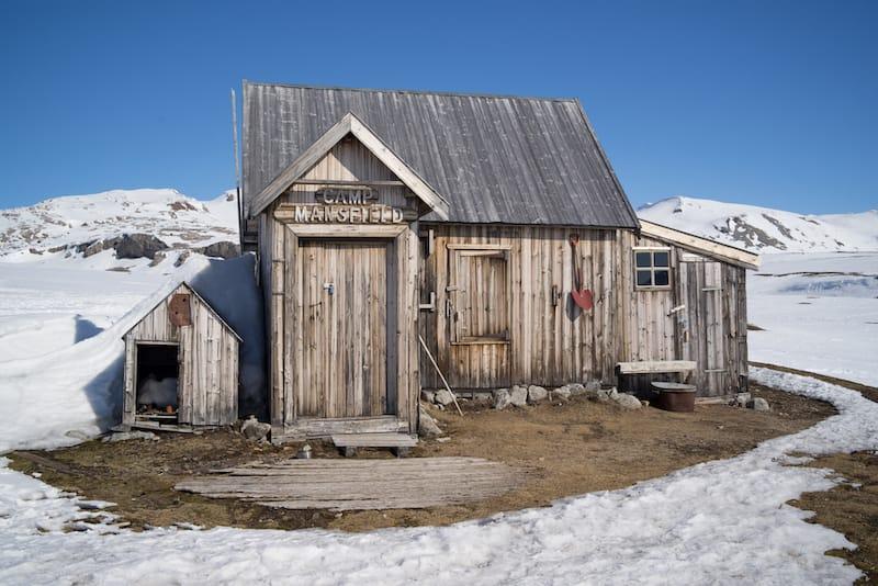 Cabin in Svalbard shutterstock_1743180713