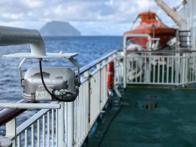 Ferry from Torshavn to Tvøroyri in the Faroe Islands (Streymoy to Suduroy ferry)