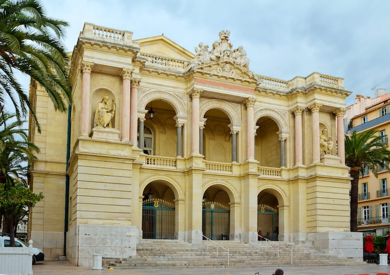 France.Toulon. Opera house