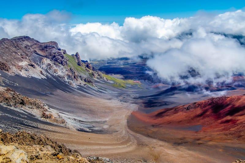 Haleakala National Park on the island of Maui, Hawaii