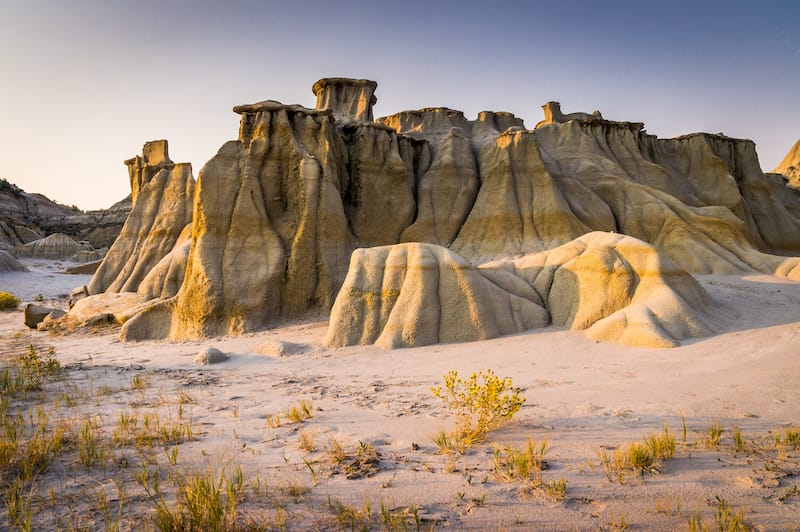 Underrated national parks - Hoodoos at Theodore Roosevelt National Park