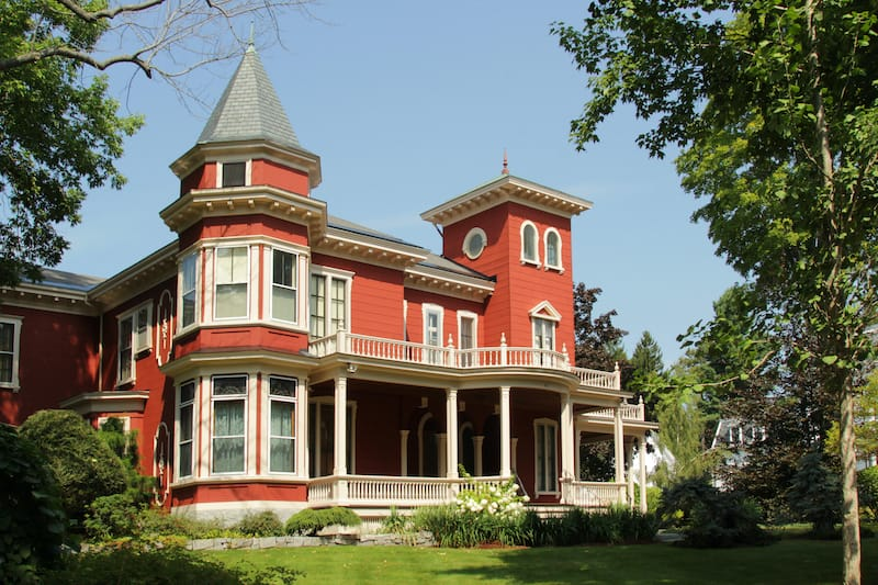 House of Stephen King in Bangor Maine