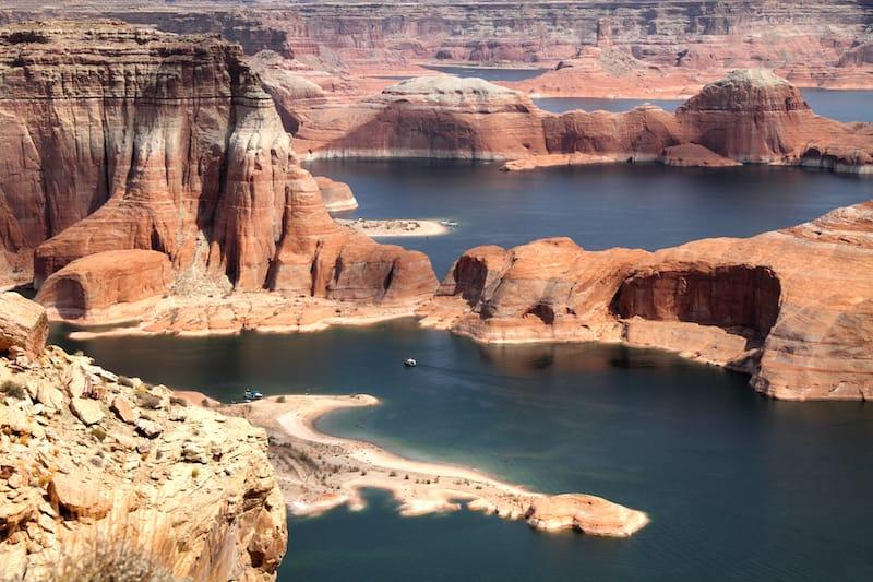 Lake Powell in Arizona and Utah