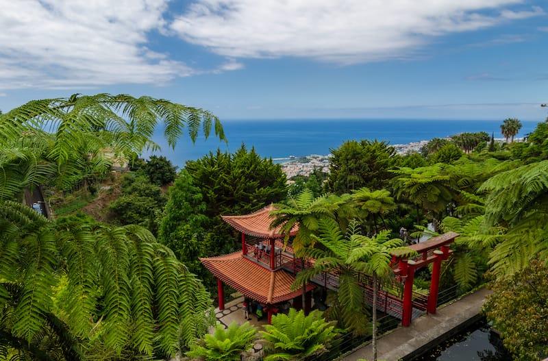 Monte Palace Tropical Garden. Funchal, Madeira island