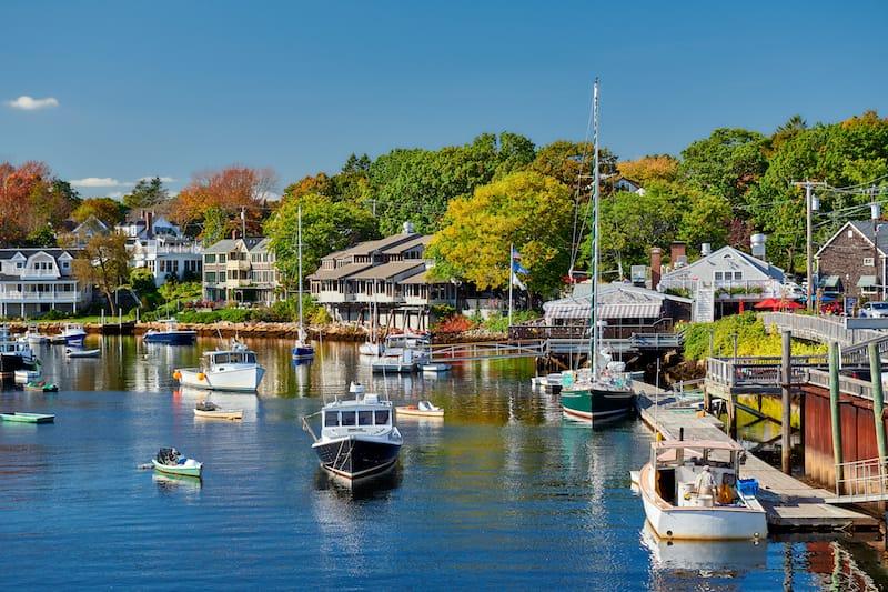 Perkins Cove, Ogunquit in Maine