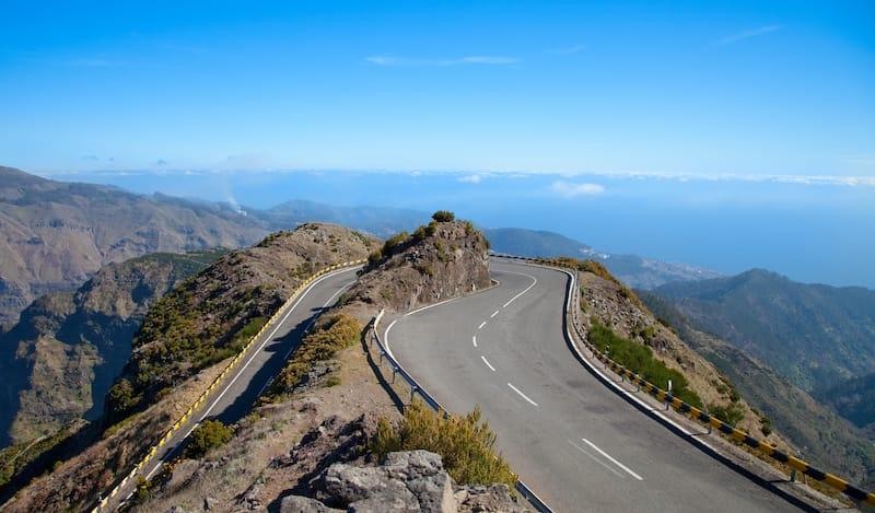Roads in Madeira island