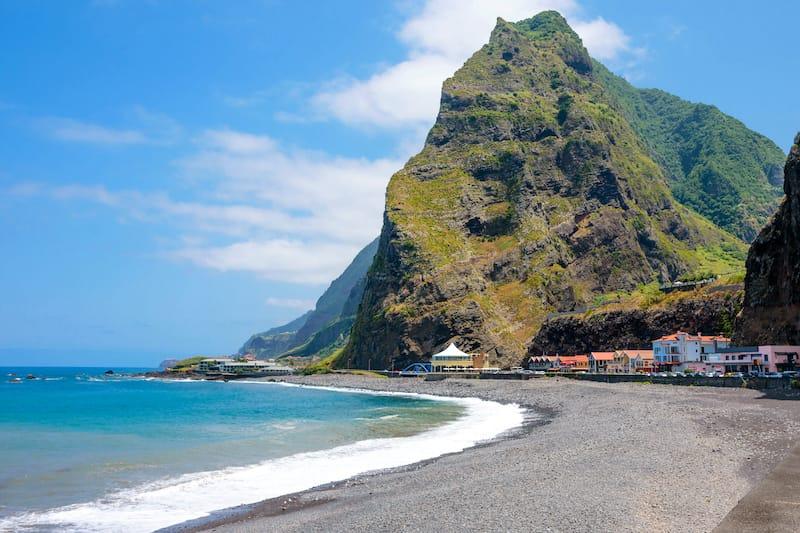 Sao Vicente Madeira beach