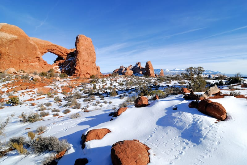 Torret Arches at Arches National Park in Utah