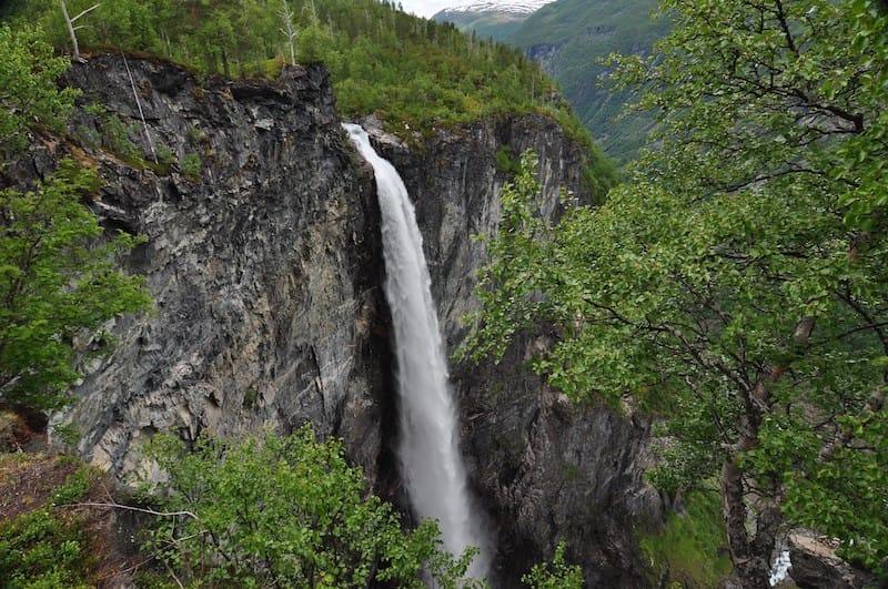Vettisfossen, Norway, Jotunheimen National Park