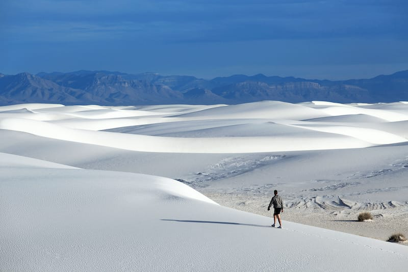 White Sands National Park in the United States