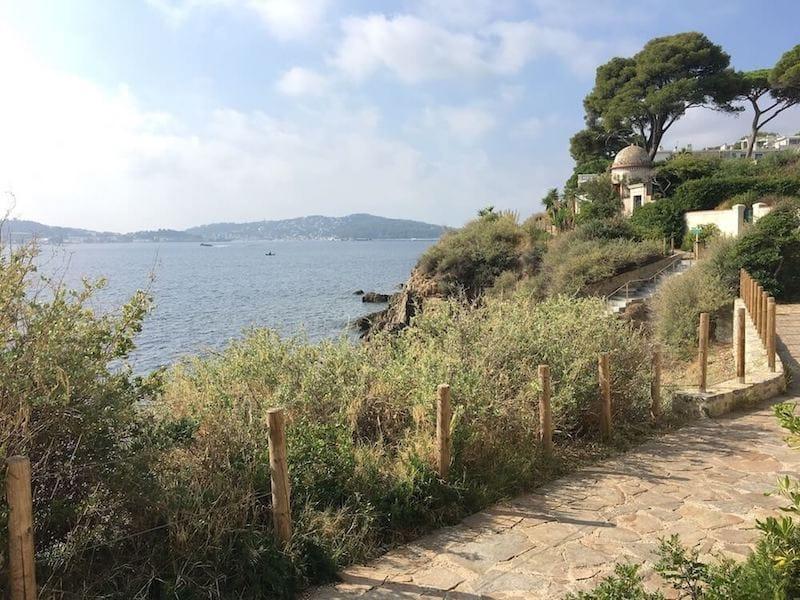 Sentier des Douaniers in Toulon