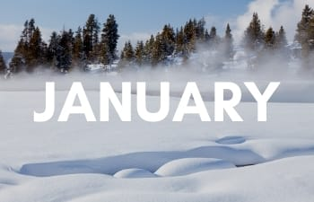 National Parks in January