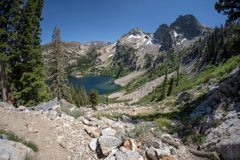 Alpine Lake in Idaho