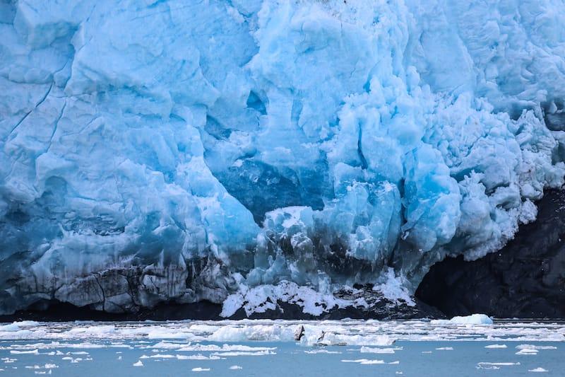 Close up Aialik Glacier, Kenai Fjords National Park