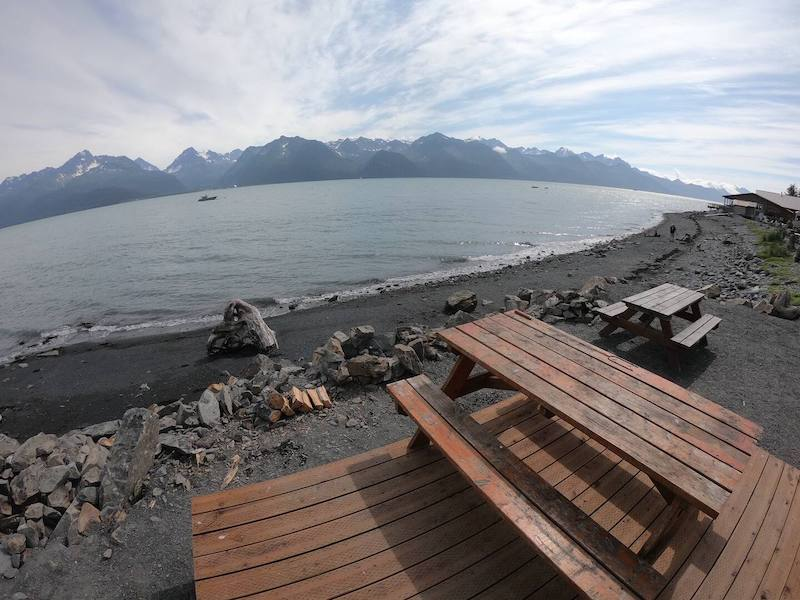 Oceanfront Airbnb in Seward AK