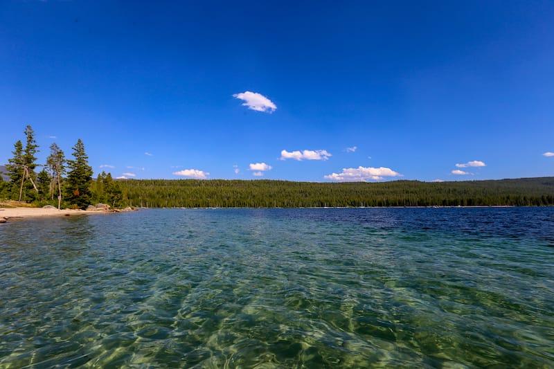 Redfish Lake in Stanley Idaho