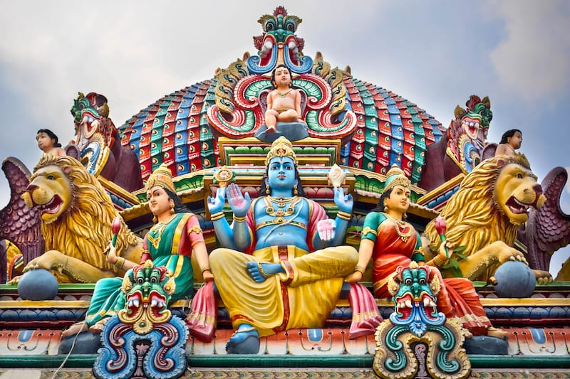 Sri Mariamman Temple details