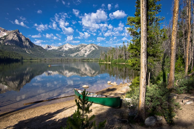 Stanley Lake in ID
