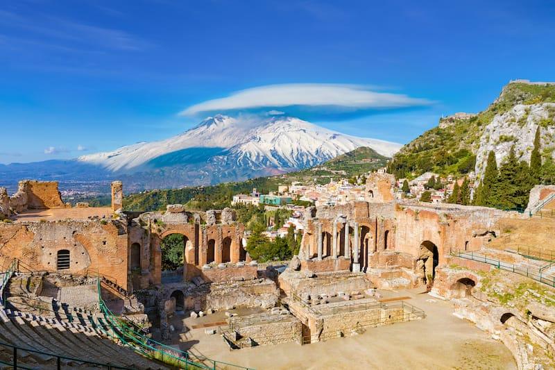 Taormina, Italy on Sicily