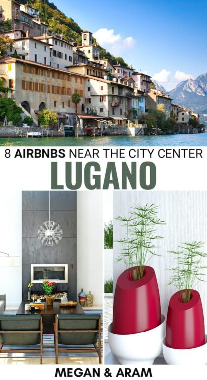 Are you looking for the best Airbnbs in Lugano, Switzerland? Our Lugano Airbnbs guide has you covered! These are eight amazing Airbnb rentals in Lugano that cover all budgets and offer easy access to the city (some are even city center!) Check it out! | Lugano accommodation | Airbnb Lugano | Airbnb Switzerland | Things to do in Lugano | Where to stay in Lugano | Lugano apartments | Lugano itinerary | Places to visit in Switzerland | Best airbnbs Lugano