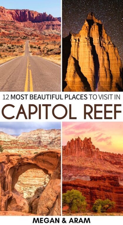 Capitol Reef is one of Utah's most underrated places. This is a guide to all the best things to do in Capitol Reef National Park - including hiking and more! | Capitol Reef things to do | Utah national parks | Capitol Reef itinerary | Capitol Reef hiking | Capitol Reef hikes | Capitol Reef photography | Capitol Reef attractions | Fruita Schoolhouse | Gifford Homestead | Places to visit in Utah