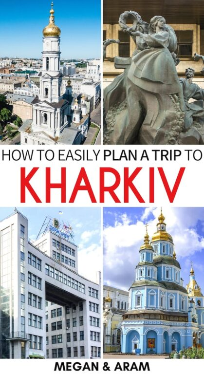 Are you planning a trip to Kharkiv? This is a guide to the best things to do in Kharkiv, Ukraine - the country's underrated second-city. Click to read more! | Visit Ukraine | Kharkiv things to do | Kharkov Ukraine | What to do in Kharkiv | Gorky Park Kharkiv | Derzhprom | Soviet architecture Ukraine | Soviet architecture Kharkiv | Things to do in Ukraine | Kharkiv itinerary | Kharkiv sightseeing | Kharkiv travel
