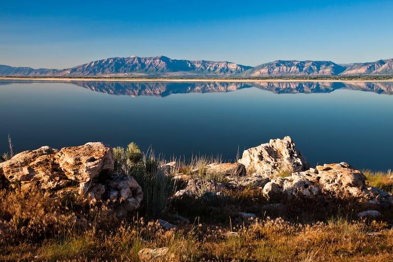 Antelope Island in the Great Salt Lake Utah