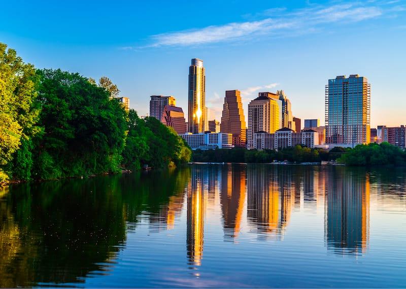 Austin Texas in April