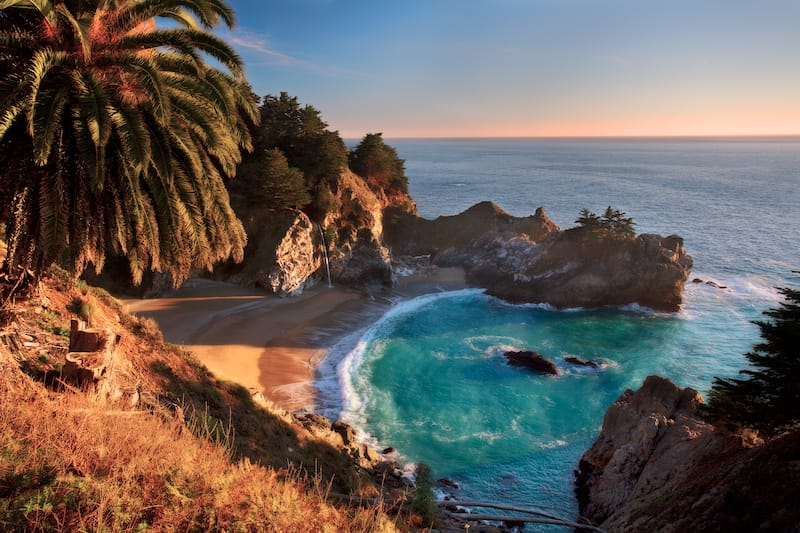 Big Sur California - Best places to visit in March in the USA