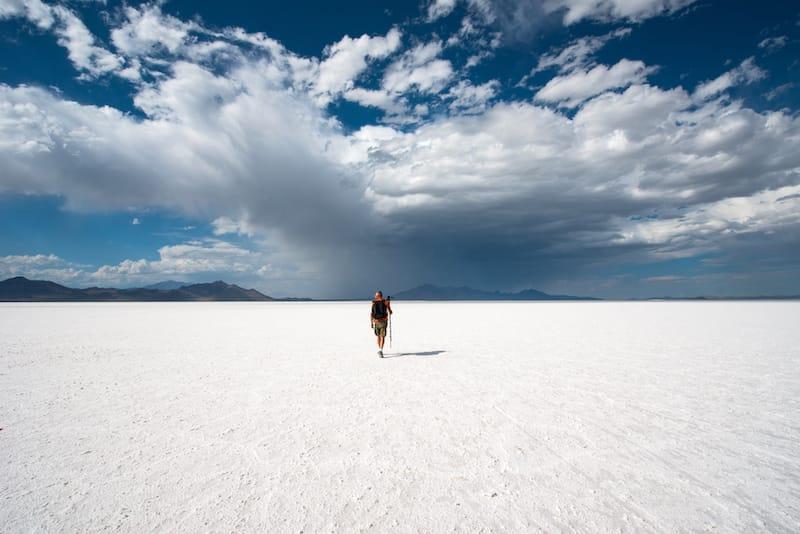 How to plan to visit the Bonneville Salt Flats