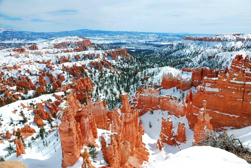 Bryce Canyon 1 day itinerary winter