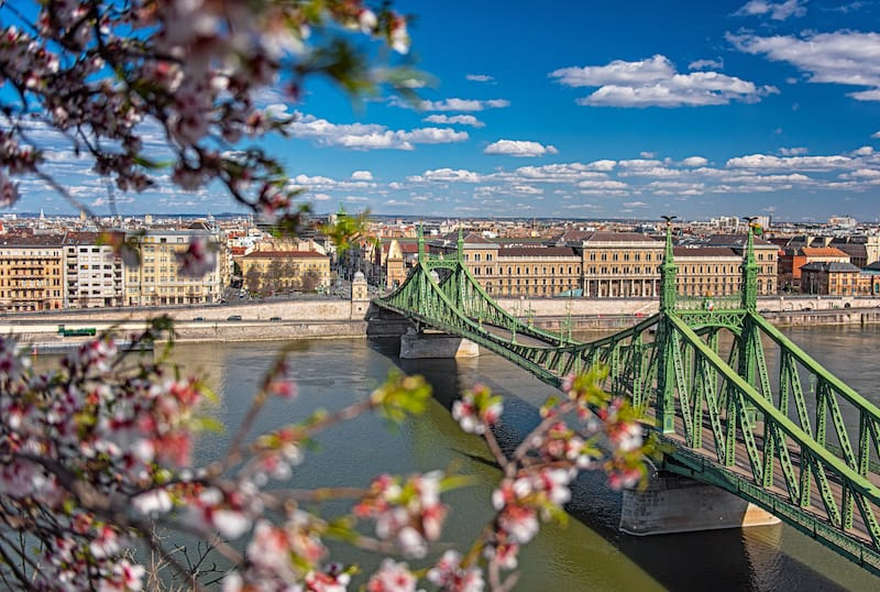 Budapest in March