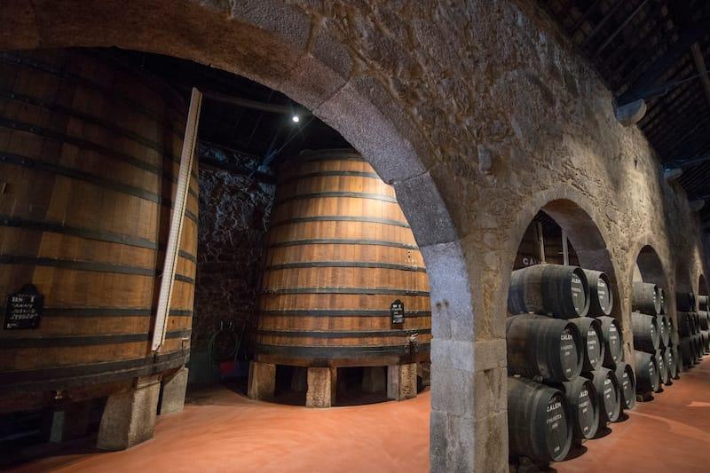 Calem Wine Cellar in Porto - Editorial credit- amnat30 - Shutterstock.com