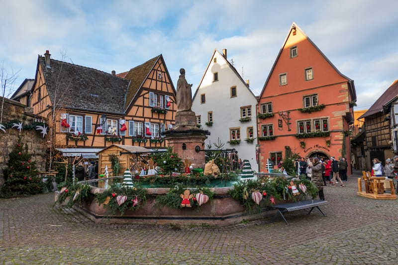 Christmas in Eguisheim France