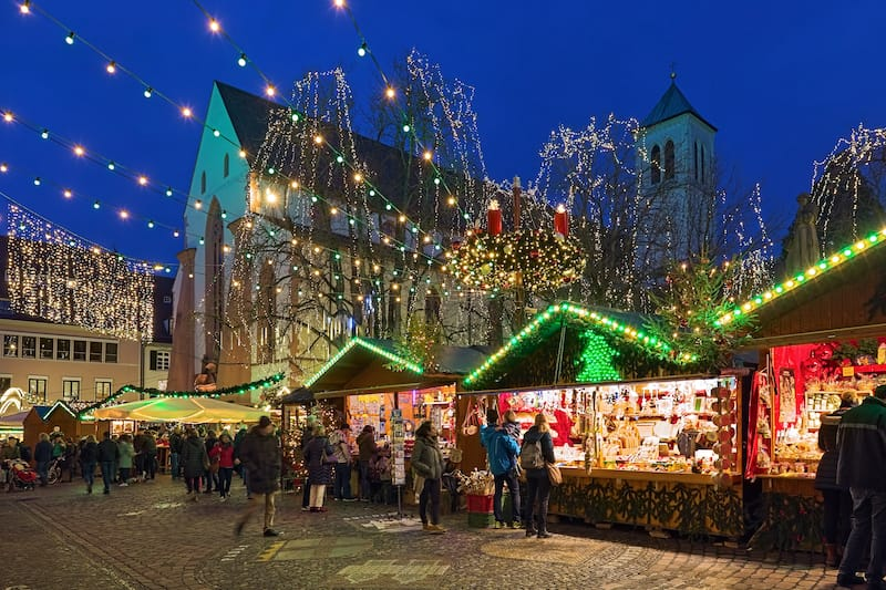 Christmas in Freiburg Germany