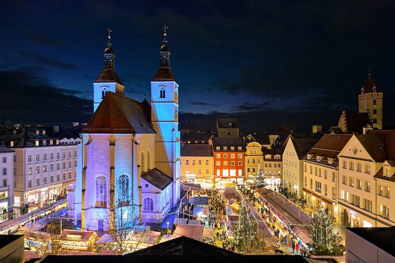 Christmas in Regensburg Germany