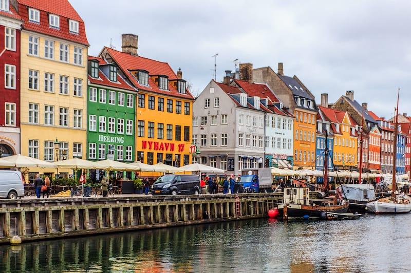Copenhagen in March