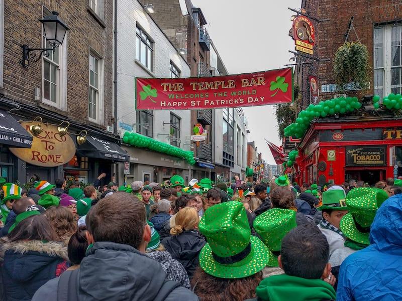 Dublin in March