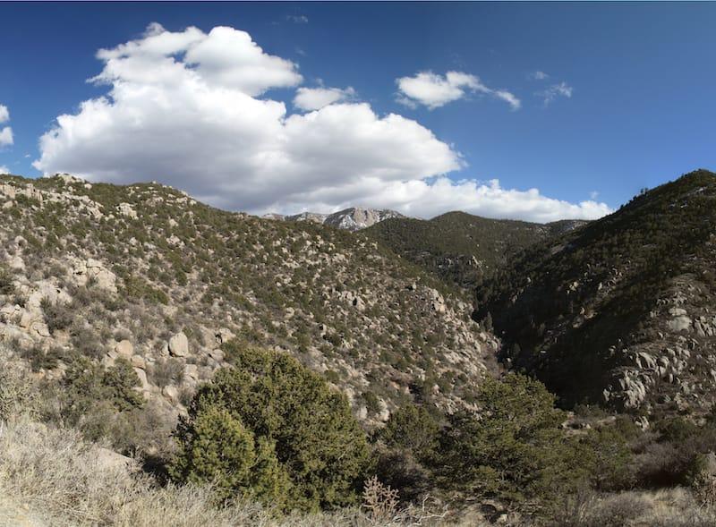 Embudito Canyon Trail