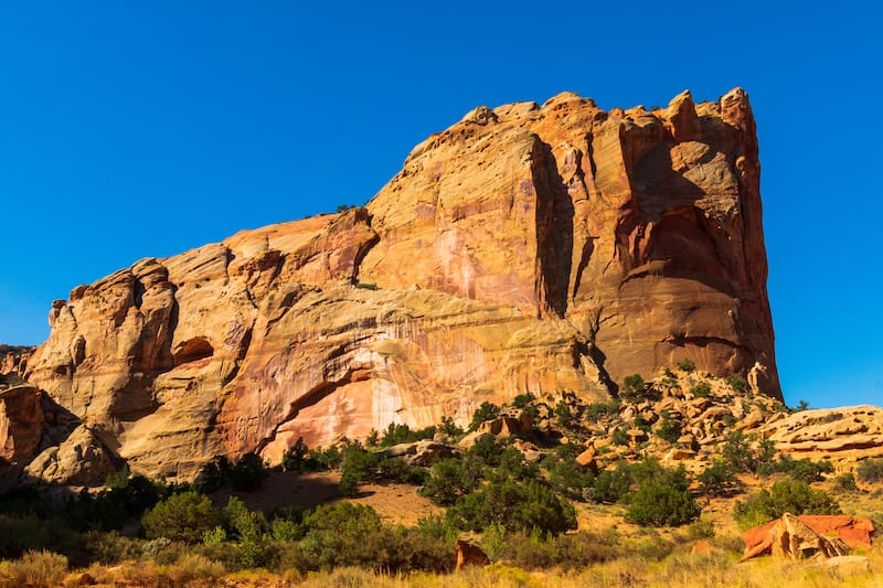 Grand Wash Trail in Capitol Reef NP
