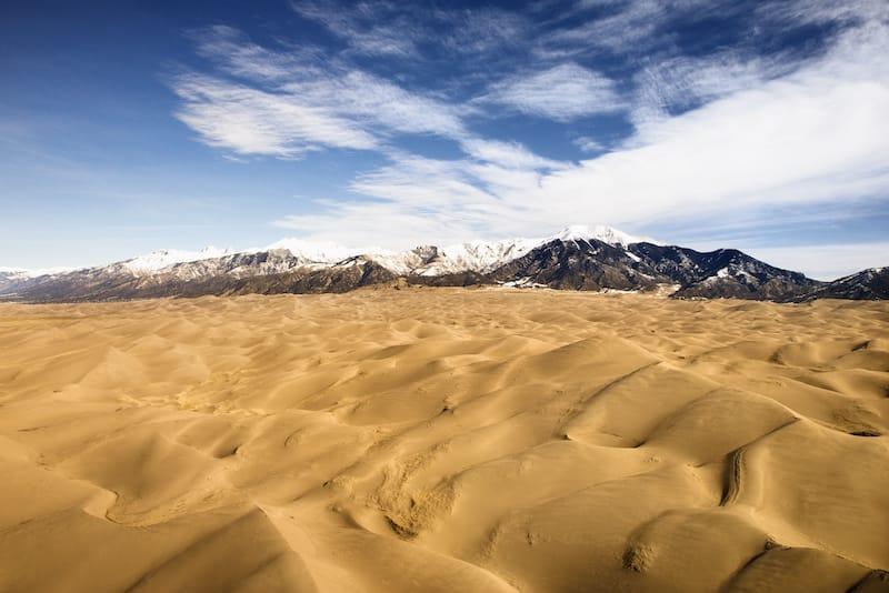 Great Sand Dunes National Park April