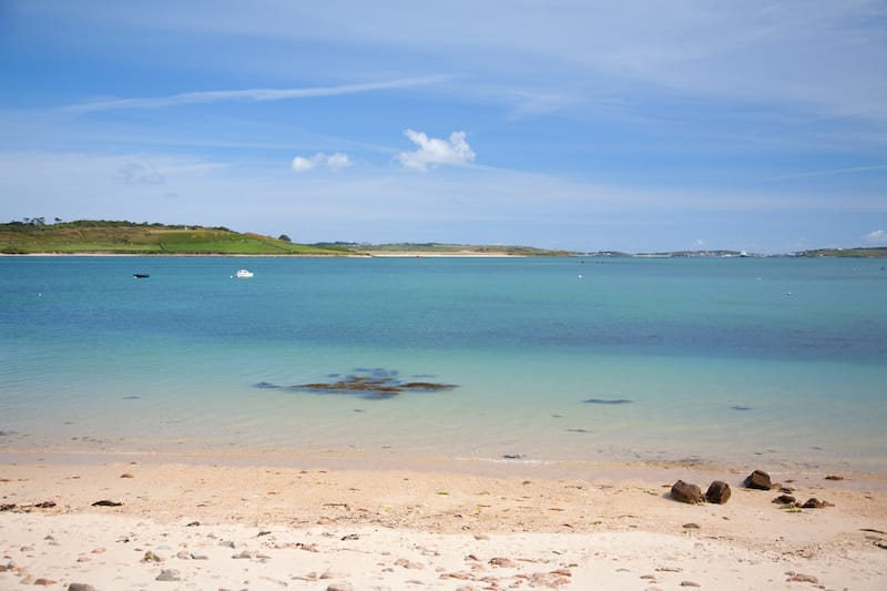 Isles of Scilly in March
