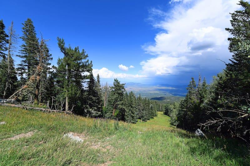 La Luz Hiking Trail in Albuquerque